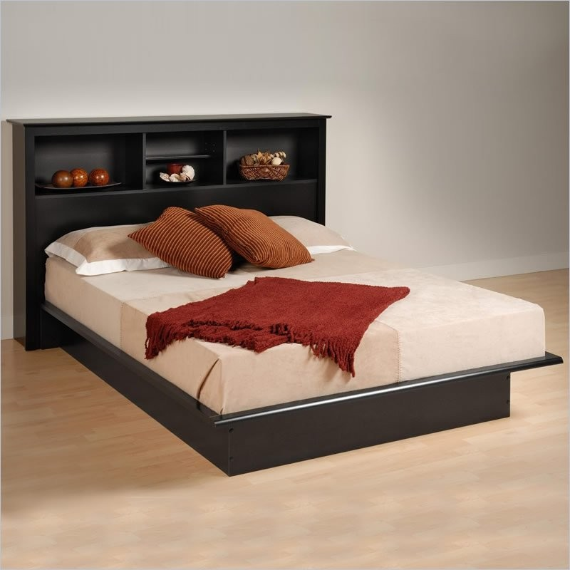 full size platform bed frame with headboard king size platform bed with bookcase headboard best of innovative TQWVHEE