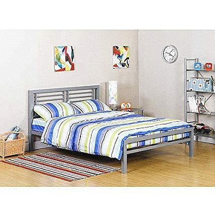 full size platform bed frame with headboard silver metal full size platform bed black furniture headboard footboard BUIOJNV
