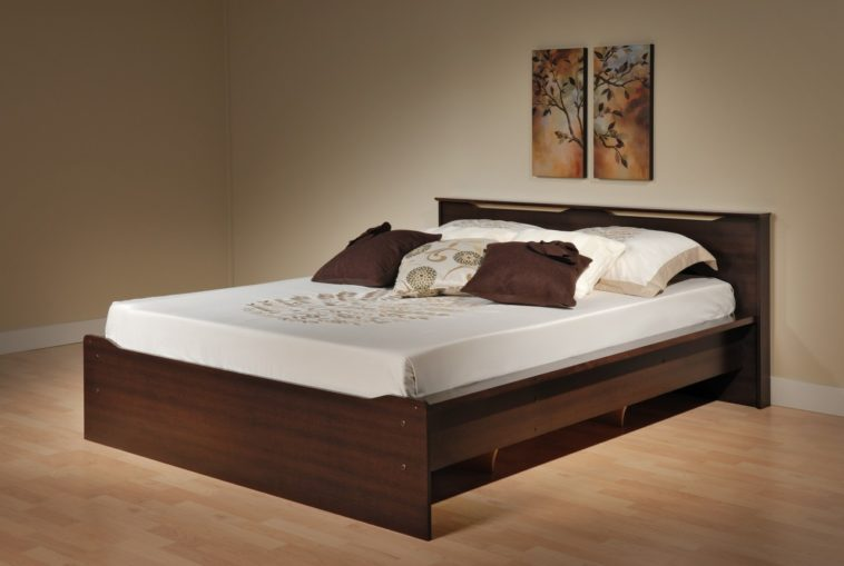 full size wooden bed frame with headboard cool full size wood bed 25 varnished wooden frame with TFRVAQM