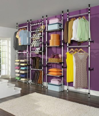 Great Clothing Storage Ideas For Small Bedrooms Clothes 13 346x407 APUKPOE