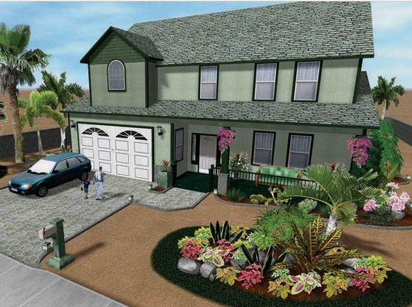 great front yard landscaping ideas on a budget front yard XKKIJPR