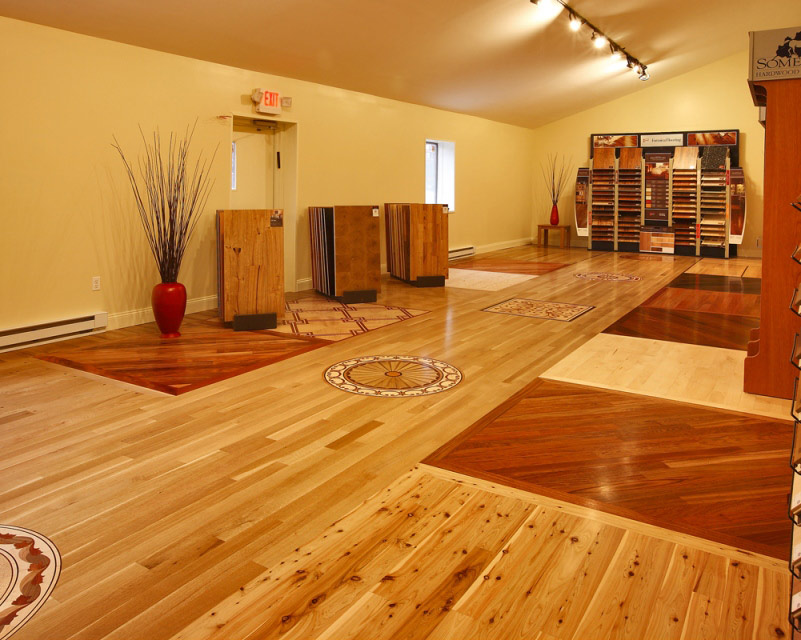 How design wooden floor