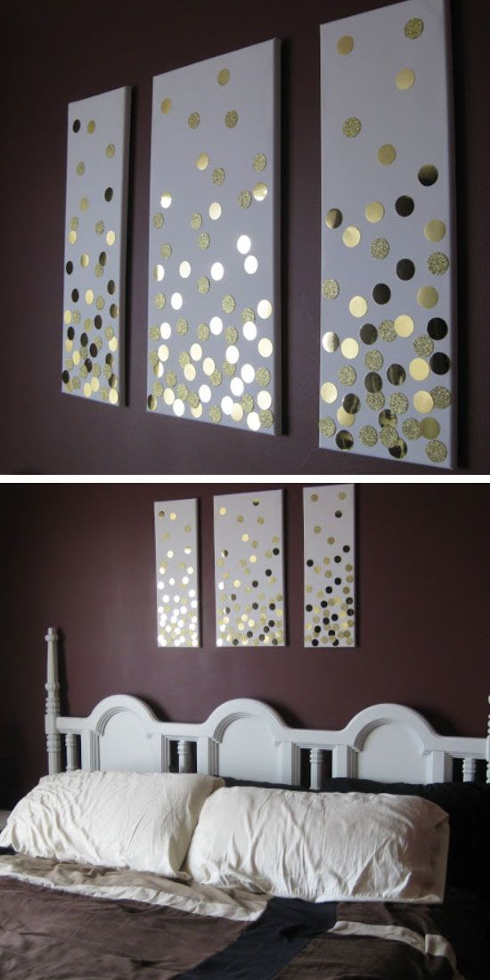 homemade wall decoration ideas for bedroom 35 creative diy wall art ideas for your home   FIECUPD
