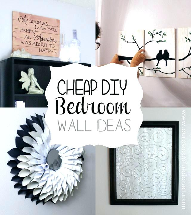 homemade wall decoration ideas for bedroom homemade wall decoration ideas VCHPJFP