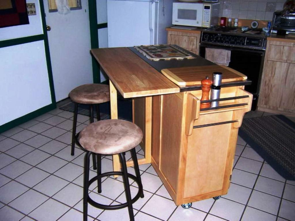image of: movable kitchen island with breakfast bar LGCEXUC