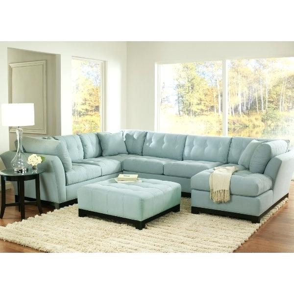 incredible blue leather sectional sofa with chaise light suede we are LMXQLND