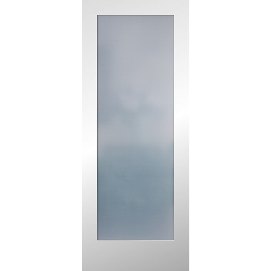 interior doors with frosted glass panels reliabilt white 1-panel solid core frosted glass wood slab door RWATKYP
