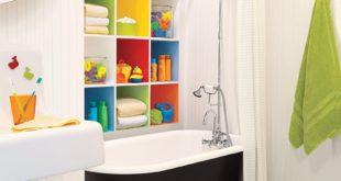 kids bathroom themes 1. primary colors. FISPMAG