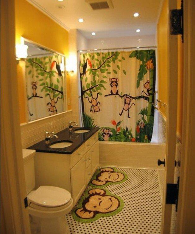 kids bathroom themes 30 colorful and fun kids bathroom ideas DDJKXVX