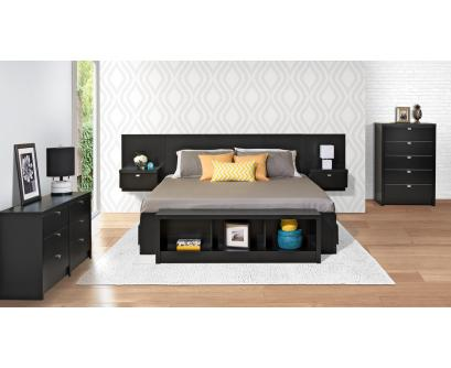 king headboard with built in nightstands hover over image to zoom in. QNESPJR