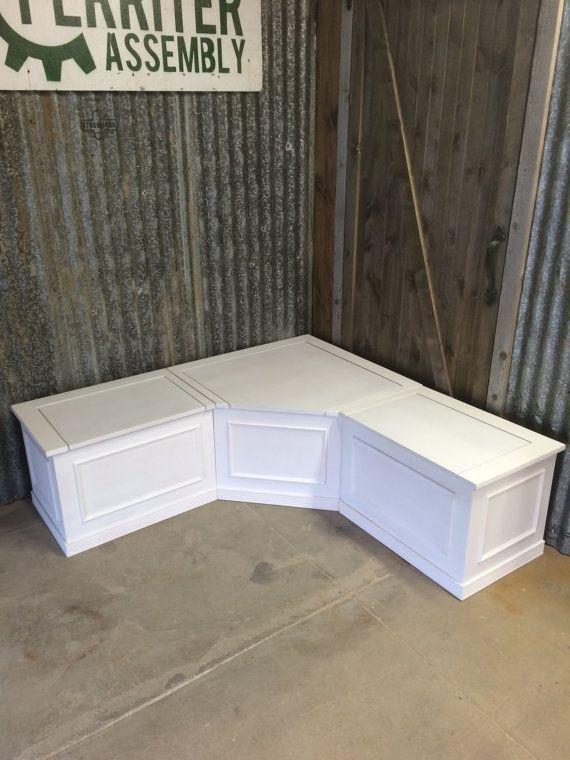 kitchen corner bench seating with storage banquette- corner bench seat with storage | storage ideas | PSFPLBJ