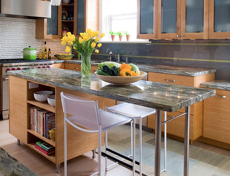 Kitchen Island Ideas For Small Kitchens: A Statement for Less
