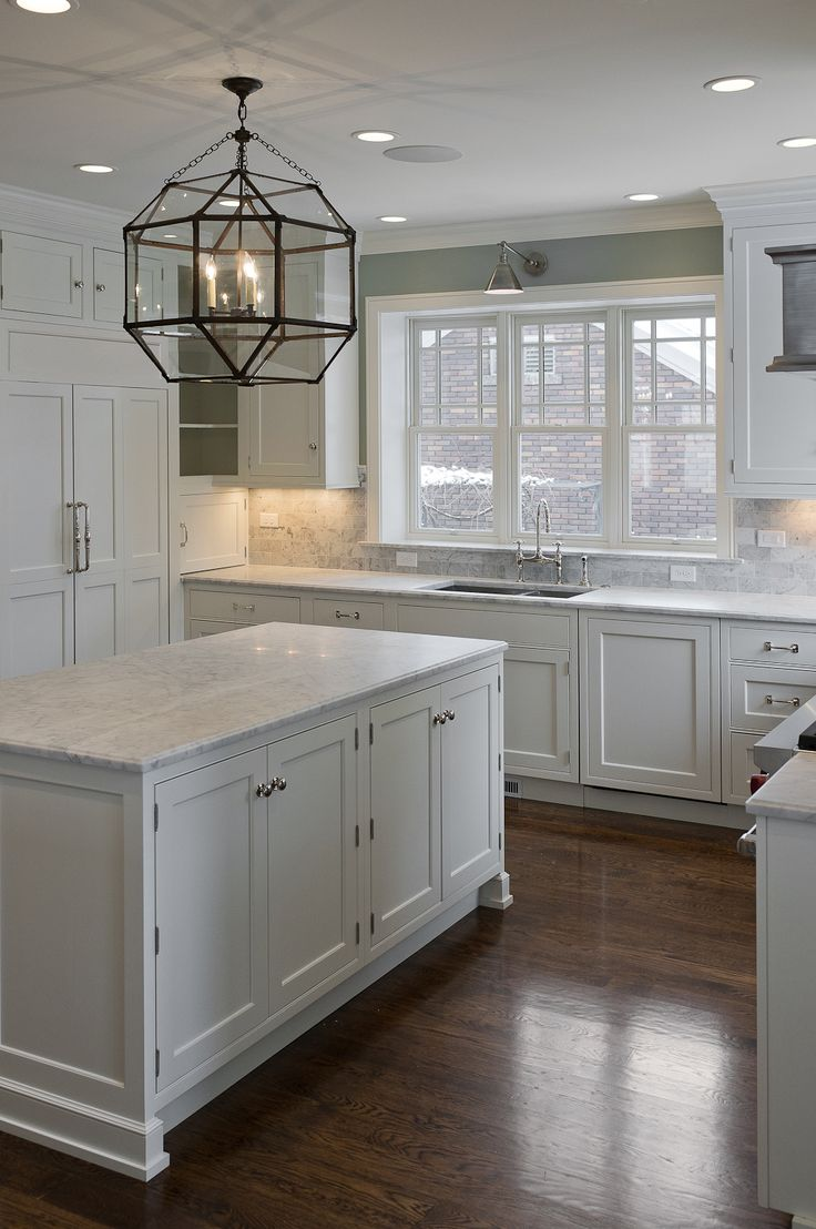 kitchens with white cabinets and dark floors 30 spectacular white kitchens with dark wood floors | kitchen/dining MFSAYFW