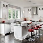 Kitchens With White Cabinets And Dark Floors: Why Are They a Good Choice?