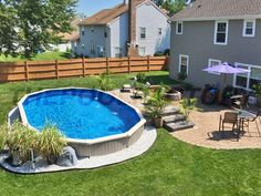 landscaping ideas around above ground pool above ground pools with decks awesome photo) - an essential UDBZZIF