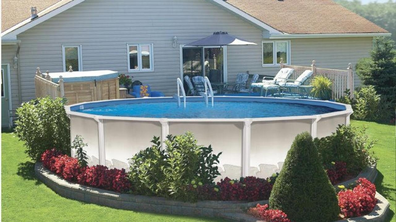 landscaping ideas around above ground pool landscaping around above ground pool GDPJJVO