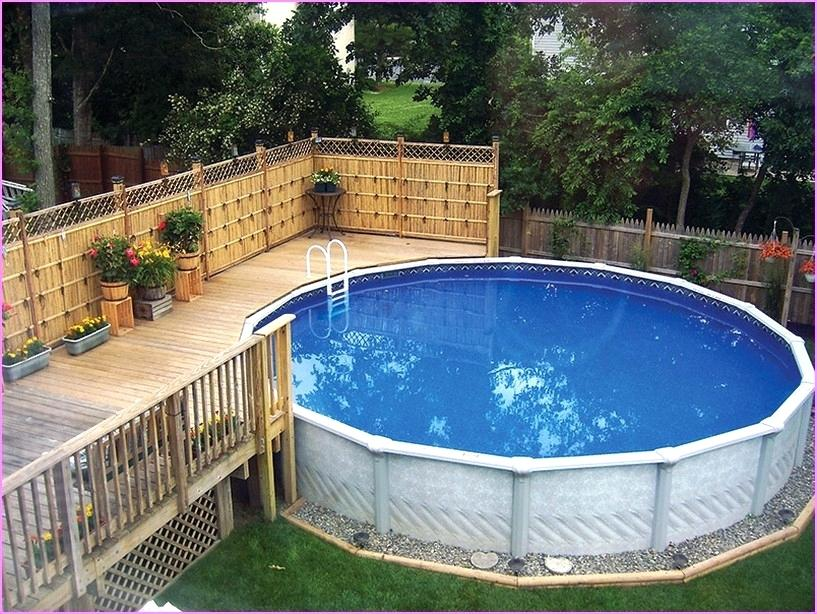 landscaping ideas around above ground pool landscaping around above ground pool pictures gorgeous above ground pool XECVRXU