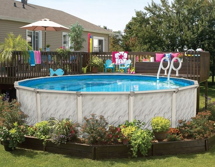 Landscaping Ideas Around Above Ground Pool: Food for Thought