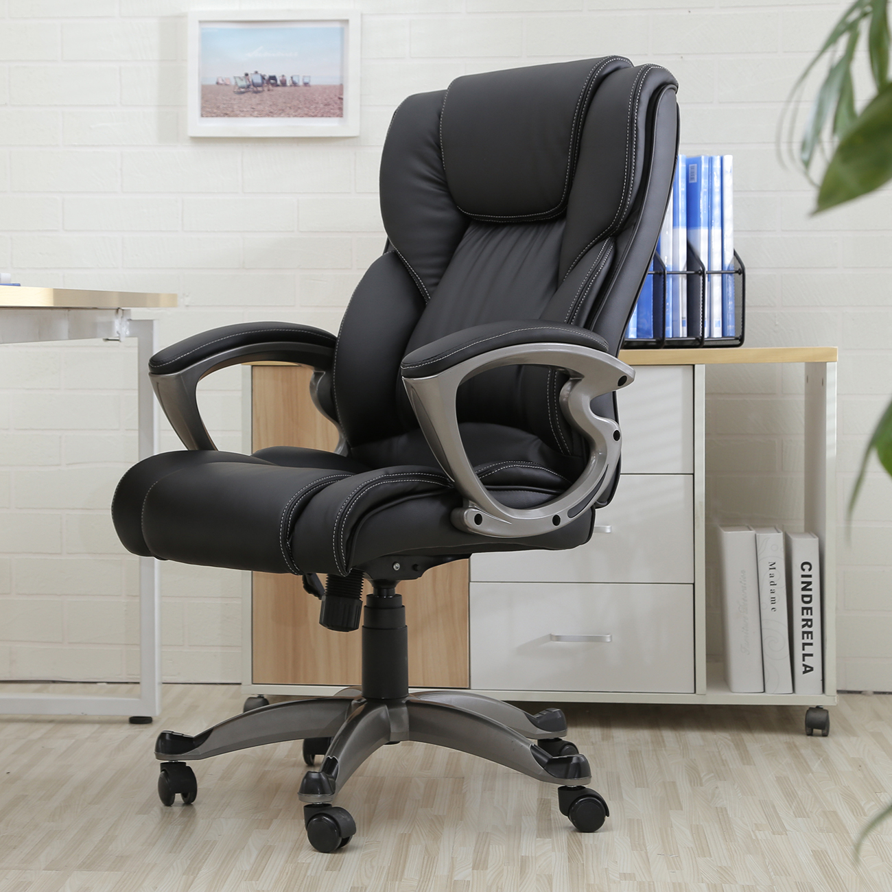 Leather Executive Office Chair High Back: Functionality and Comfort at Its Finest