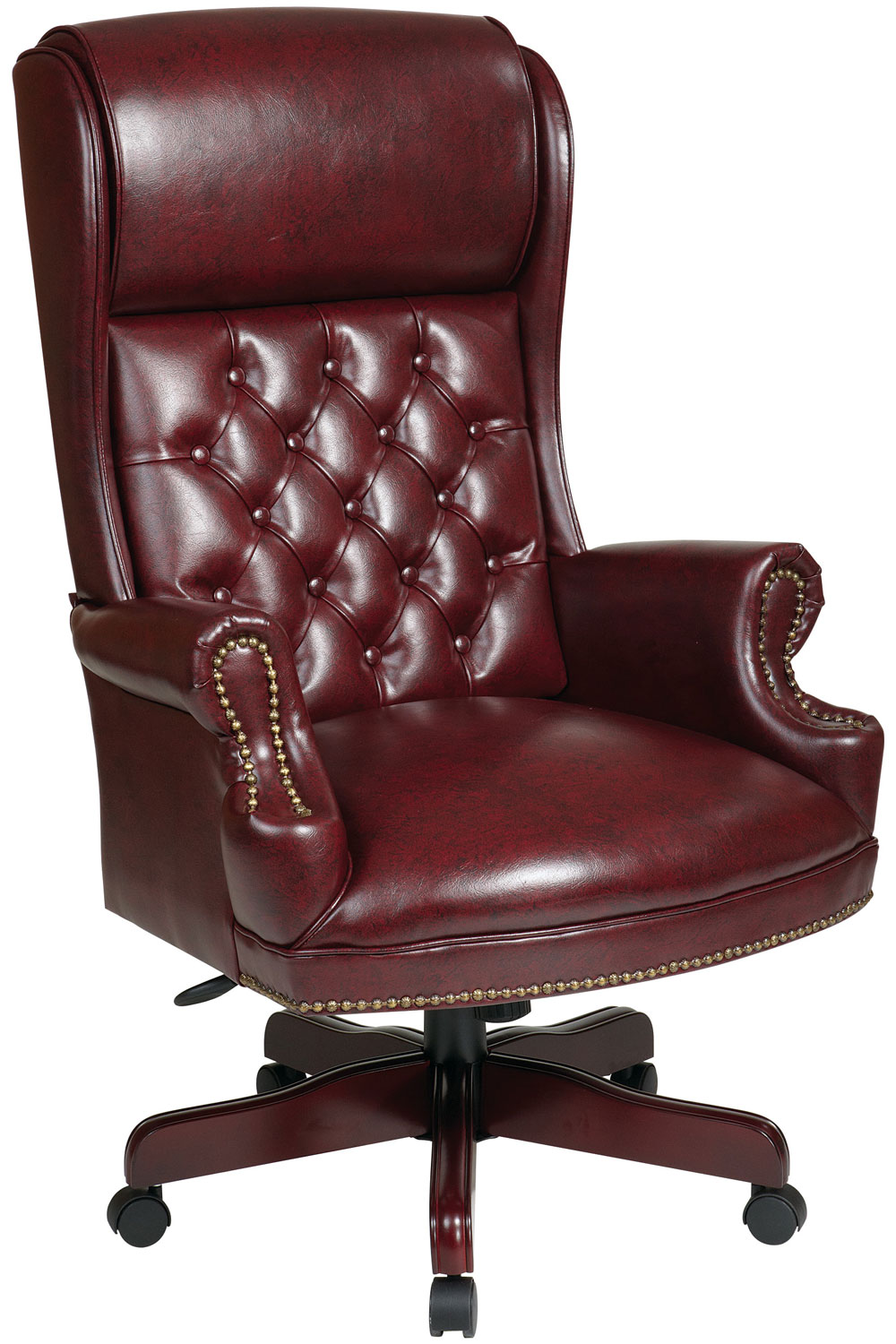 leather executive office chair high back ... office star deluxe high back traditional executive chair best JFOTSUE
