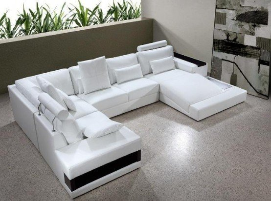 leather sectional sleeper sofa with chaise 1 JZSWPRY