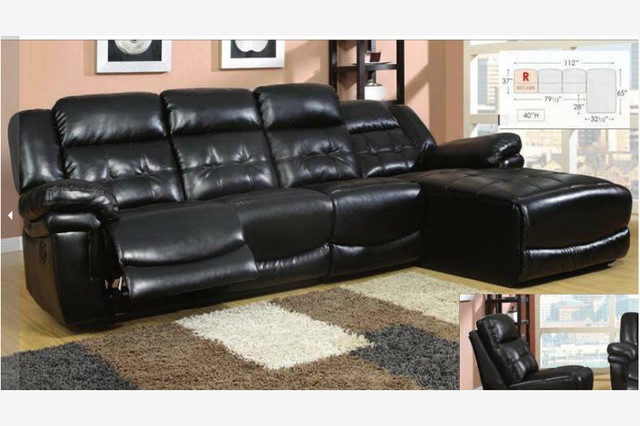 leather sectional sofa with chaise and recliner decoration in black leather recliner sofa with leather sectional sofa QBKOIIR