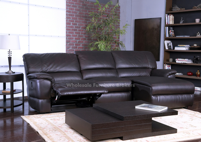 leather sectional sofa with chaise and recliner ... top recliner leather sofa recleiner couch living room design QHNMKEZ
