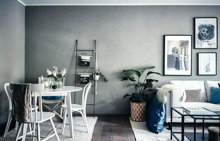 living and dining room together small spaces ... fresh living room medium size small space living and IEBMZXQ