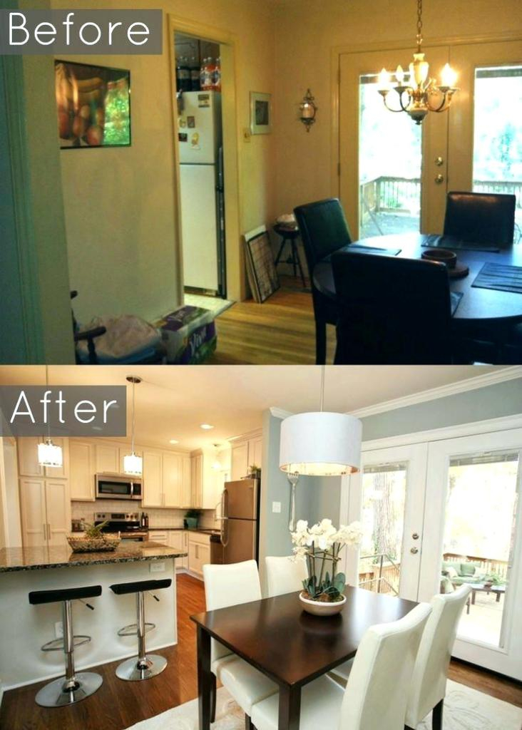 living and dining room together small spaces remodel kitchen dining room together YJAYLNI
