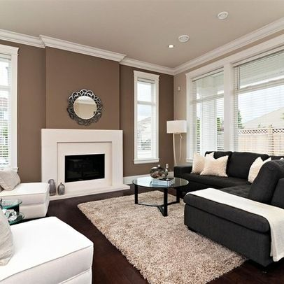 living room accent wall with brown furniture 10 creative methods to decorate along with brown | living HMFMHUT