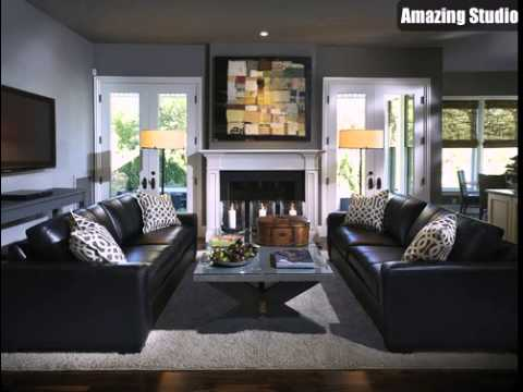 living room colors for black leather furniture living room decorating ideas black leather couch VWGMPIE