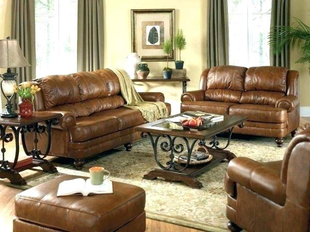 living room ideas with leather furniture brown couch decorating ideas brown leather couch decor living room GFGPRAA