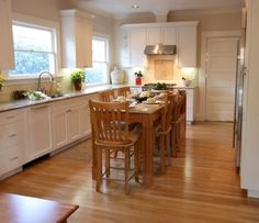 long narrow kitchen island with seating small kitchen with lots of seating | especially in a PKZFBPT