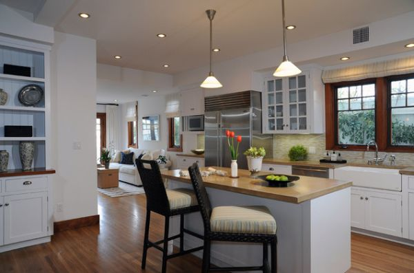 long narrow kitchen island with seating view in gallery a kitchen island ... VNCWFBD
