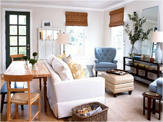 lovely decoration living and dining room together small spaces 11 QAYGZPY