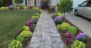 low maintenance landscaping ideas front yard curb appeal: 20 modest yet gorgeous front yards | landscaping MYOMDYP