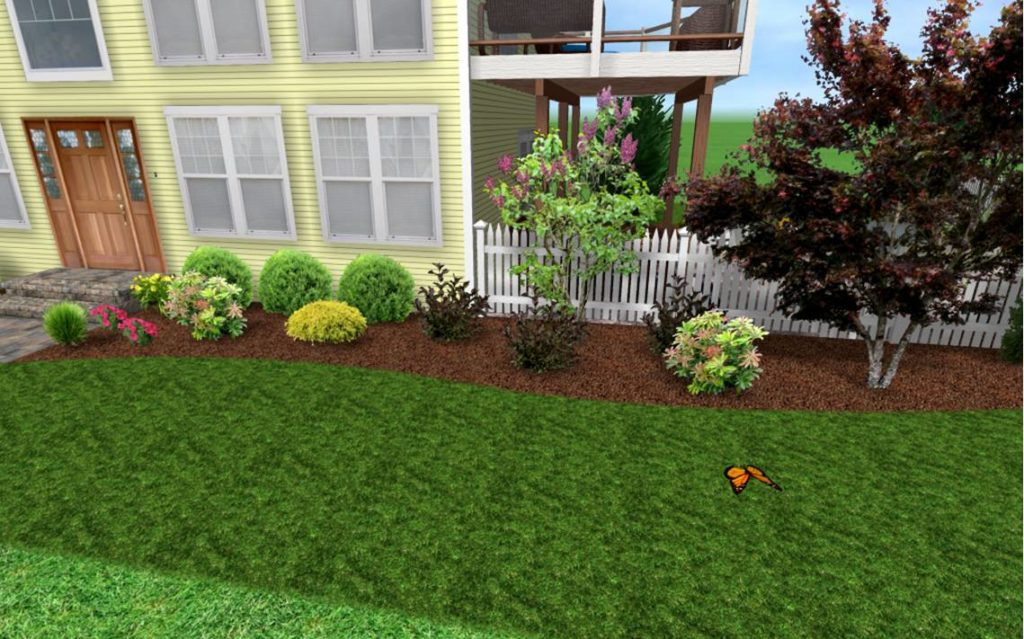 low maintenance landscaping ideas front yard NXYPDBB