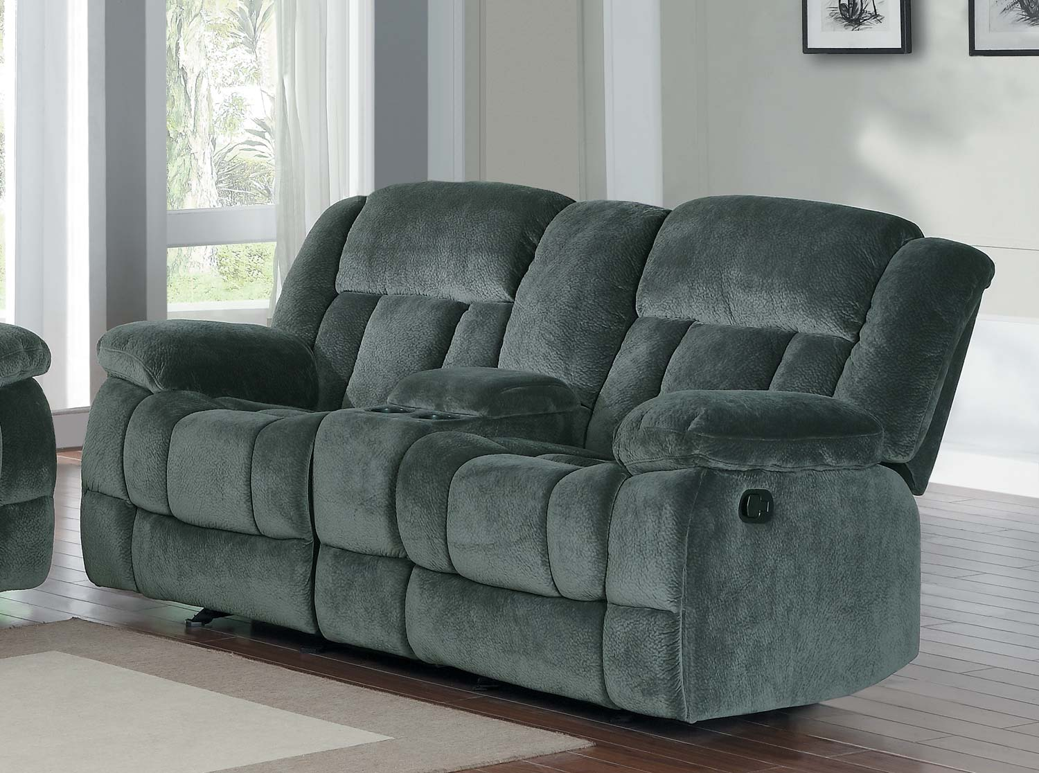 microfiber reclining loveseat with console homelegance laurelton double glider reclining love seat with center console UJOUPQY