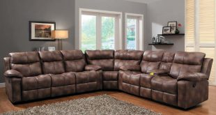 microfiber sectional couch with recliner homelegance brooklyn heights reclining sectional sofa set BBKAVYN