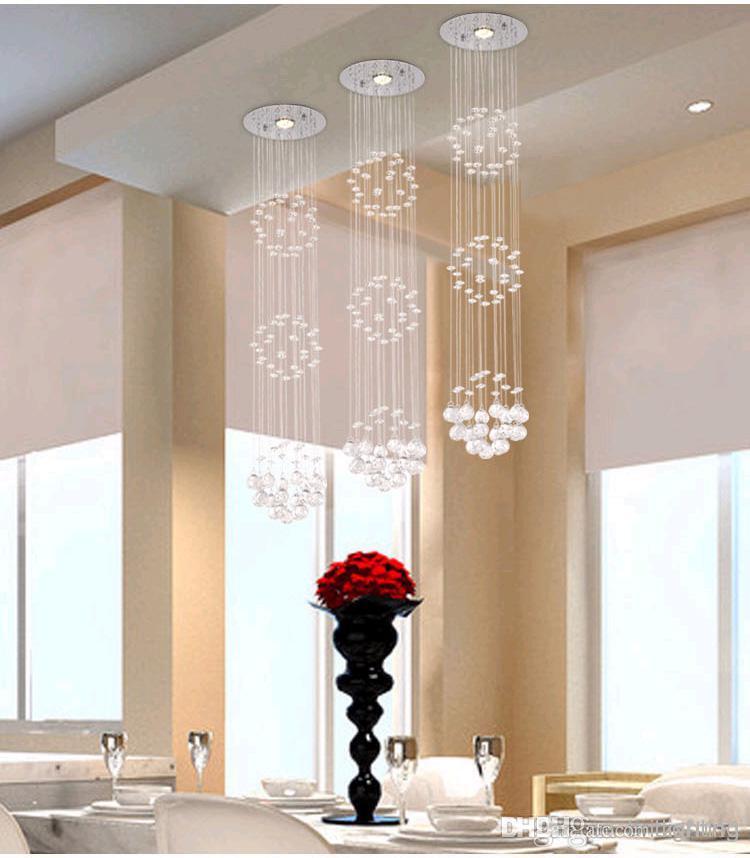 modern crystal chandeliers for dining room modern crystal chandeliers ceiling crystal pendant lamp living room lights JMEEJOK