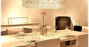 modern crystal chandeliers for dining room siljoy modern crystal chandelier lighting rectangular oval pendant lights NMSALOC