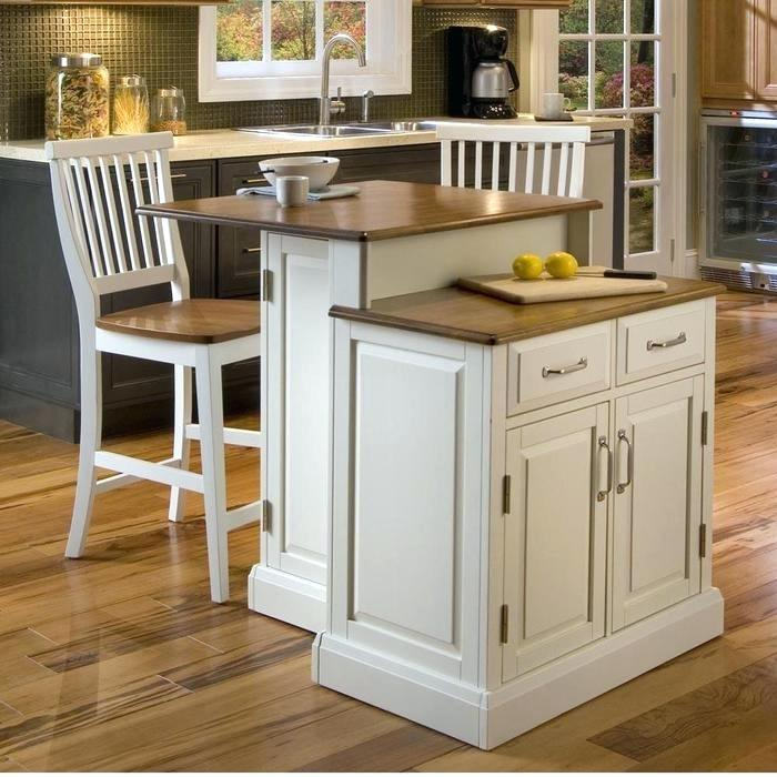 Movable Kitchen Island With Breakfast Bar: 2 in 1 Functionality and Flexibility