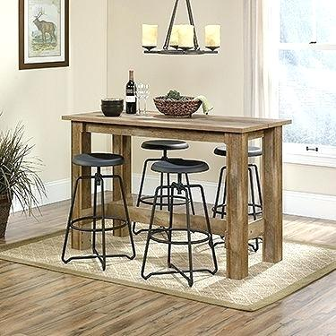 narrow counter height table for kitchen long narrow counter height table counter height dinette table small TDFBVMO