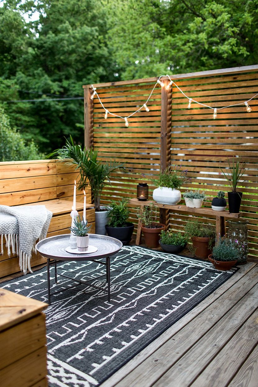 Lovely Outdoor Design Ideas for Small Outdoor Space