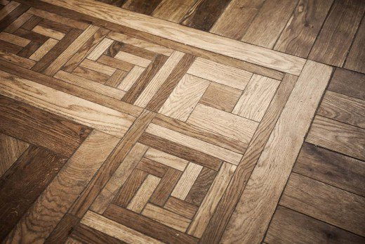 pattern of oak parquet flooring WDMLHUU