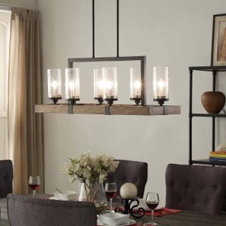 pendant lighting over dining room table top 6 light fixtures for a glowing dining room - EZLIAWH
