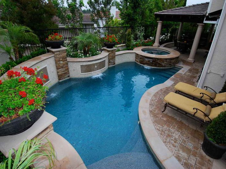 pool landscaping ideas for small backyards 25 sober small pool ideas for your backyard | pool XUERQWU