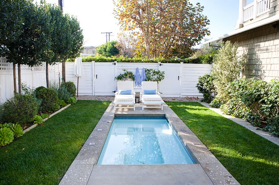 pool landscaping ideas for small backyards view in gallery a tiny pool in the small urban ZVICXHC