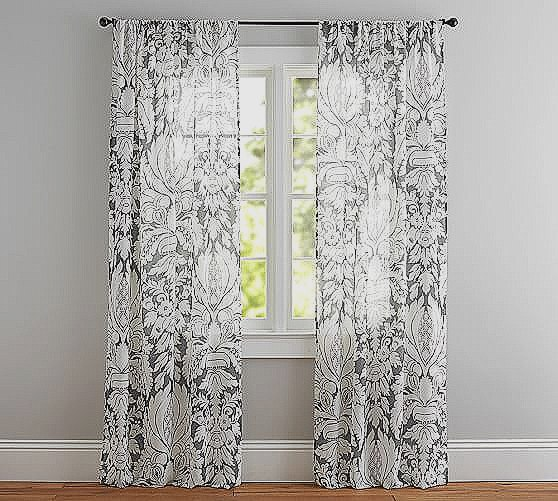 Printed Sheer Curtains flower sheer curtains for bedroom ideas of modern house unique KWBNPOR
