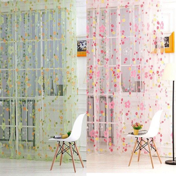 Printed Sheer Curtains getsubject() aeproduct. PJZETCU